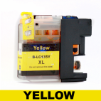 Brother Compatible Ink Cartridge LC135XL Yellow