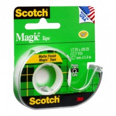 SCOTCH MAGIC TAPE DISPENSER 104 12.7mm X 11.4mm