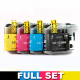 Brother Compatible Ink Cartridge Bundle LC133  B / C / M / Y