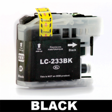 Brother Compatible LC 233 Black