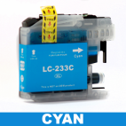 Brother Compatible LC 233 Cyan