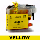 Brother Compatible LC 233 Yellow