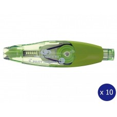 PILOT BeGreen WHITELINE RT Refillable CORRECTION TAPE 4mm X 6mm