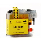 Brother Compatible Ink Cartridge LC133 Yellow